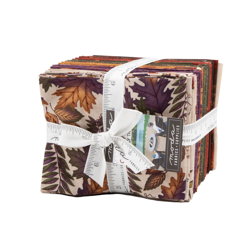 Packed Antlers Brown Beige Timeless Treasures YARD Country Fabric