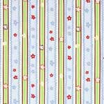 In The Beginning Frolic Stripe Blue Fabric