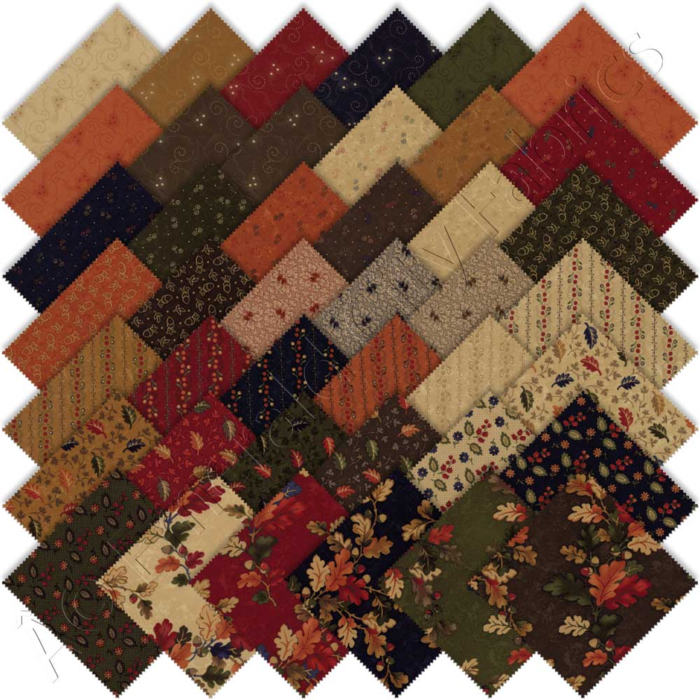 Moda Oak Haven Jelly Roll By Kansas Troubles Quilters