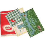 Moda Great Outdoors Cotton Dish Towels Set of 4