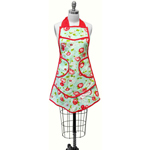 Moda Home The Good Life Kitchen Apron Aqua by Bonnie & Camille