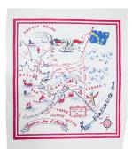 Moda Home Alaska State Retro Tablecloth