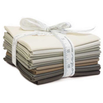 Moda Bella Solids Taupe Fat Quarter Bundle