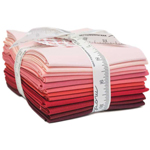 Moda Bella Solids Red Fat Quarter Bundle