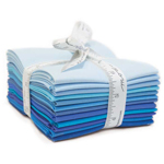 Moda Bella Solids Blue Fat Quarter Bundle