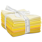 Moda Bella Solids Yellows Fat Quarter Bundle