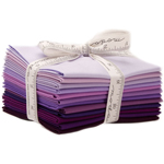 Moda Bella Solids Purple Fat Quarter Bundle