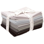 Moda Bella Solids Black Fat Quarter Bundle