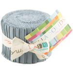 Moda Bella Solids Steel Gray Junior Jelly Roll