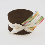 Moda Bella Solids Moda U Brown Junior Jelly Roll