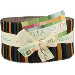 Moda Bella Solids Kansas Jelly Roll
