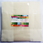 Moda Bella Solids Snow Layer Cake