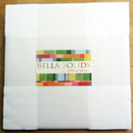 Moda Bella Solids White Bleached Layer Cake Fabric