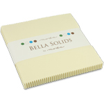 Moda Bella Solids Snow Charm Pack