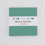 Moda Bella Solids Betty Teal Charm Pack