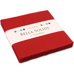 Moda Bella Solids Red Charm Pack
