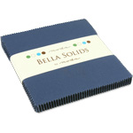 Moda Bella Solids Blue Charm Pack