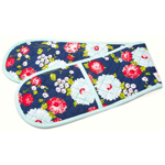 Moda Home The Good Life Double Oven Mitt Navy by Bonnie & Camille