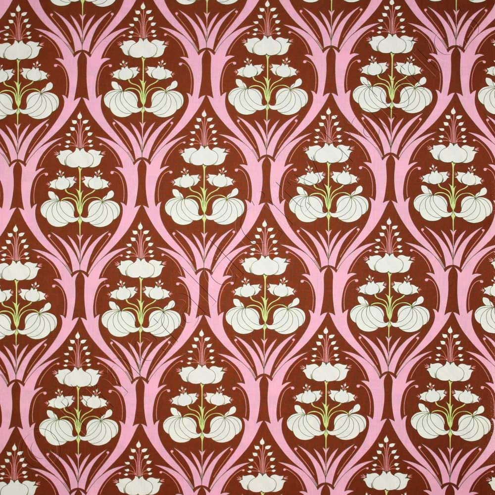 Amy Butler Home Decor Fabric Amy Butler Soul Blossoms Passion Lily Mulberry Fabric Emerald