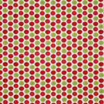 Riley Blake Alphabet Soup Beads Red Fabric