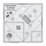 Creative Grids Square on Square Trim Tool - 3in or 6in Finished by Jean Ann Wright CGRJAW7