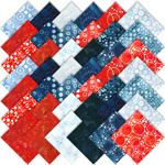Robert Kaufman Artisan Batiks Color Source 7 Charm Pack by Lunn Studios