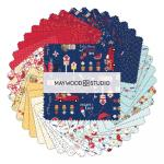 Maywood Studio Red, White & Bloom Charm Pack by Kim Christopherson