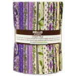 Robert Kaufman Country Manor Violet Charm Roll by Darlene Zimmerman