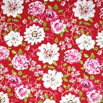 Free Spirit Tea Garden Ying Ming Red Fabric