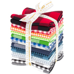 Robert Kaufman Carolina Gingham Traditional Palette Fat Quarter Bundle