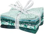 Robert Kaufman First Snow Fat Quarter Bundle Pine by Studio RK
