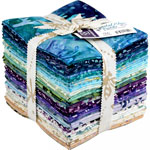 Maywood Studio Coastal Chic Batiks Fat Quarter Bundle by Monique Jacobs