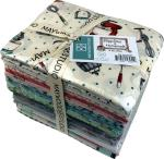 Maywood Studio Happiness is Homemade Fat Quarter Bundle by Kris Lammers