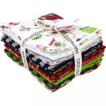 Maywood Studio We Whisk You a Merry Christmas! Fat Quarter Bundle by Kim Christopherson