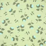 Free Spirit Ginseng Tossed Flowers Celery Upholstery Fabric