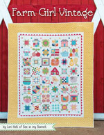Farm Girl Vintage Quilt Pattern Book by Lori Holt of Bee in My Bonnet
