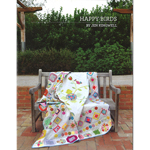 Happy Birds Quilt Pattern Booklet by Jen Kingwell