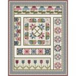 Maywood Studio Flower & Vine Flower Garden BOM Quilt Kit by Monique Jacobs