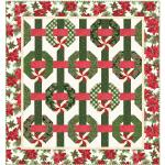 Maywood Studio Glad Tidings Metallic Quilt Kit