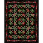 Maywood Studio Glad Tidings Metallic Juicy Cactus Quilt Kit