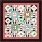 Maywood Studio Happiness is Homemade In My Mother's Kitchen Quilt Kit by Kris Lammers