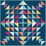 Maywood Studio Moongate Splashdown Quilt Kit by Christina Cameli