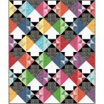 Maywood Studio Color Therapy Batiks Which Way Quilt Kit