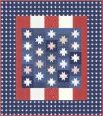 Moda Mackinac Island Honor Quilts of Valor Quilt Kit by Minick & Simpson