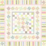 Moda Finnegan Quilt Kit by Brenda Riddle Designs