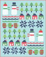 Moda Snow Day Quilt Kit by Stacy Iest Hsu