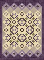 Moda Sweet Violet Quilt Kit by Jan Patek