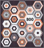 Moda Midnight Magic Boo Quilt Kit by April Rosenthal of Prairie Grass Patterns