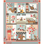 Moda 101 Maple Street Quilt Kit by Bunny Hill Designs