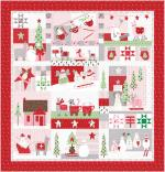 Moda Merry Merry Snow Days Quilt Kit by Bunny Hill Designs